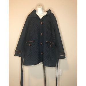 LANDS END 3XL TRENCH COAT